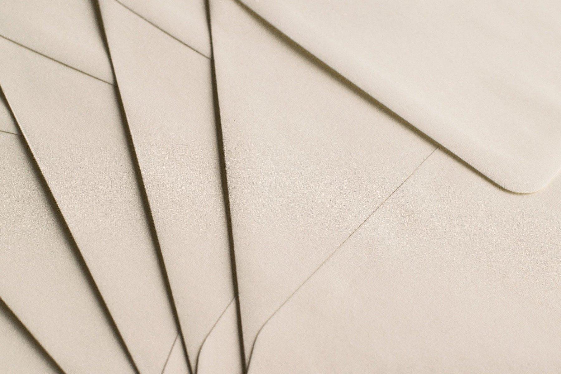 kuvert / brev